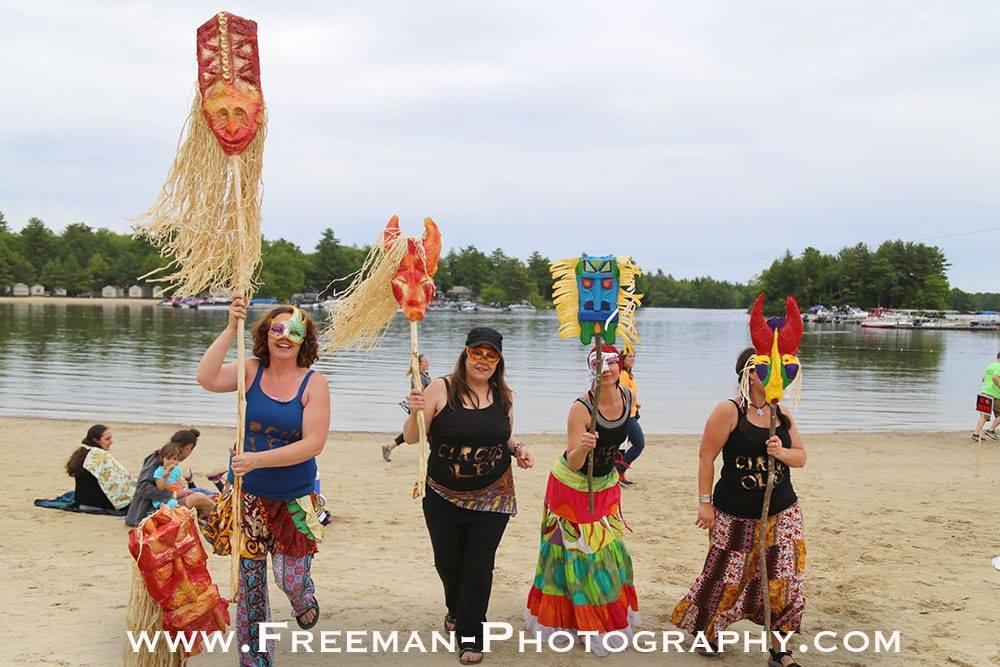Circus Ole Feast of Fools, Point Sebago Reggae